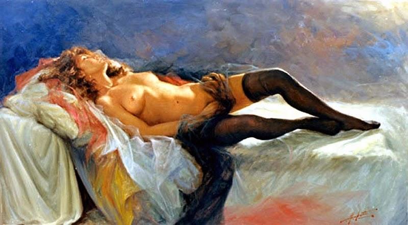 D.W.C. My  Sexy Secret - Painter Angelo Batti