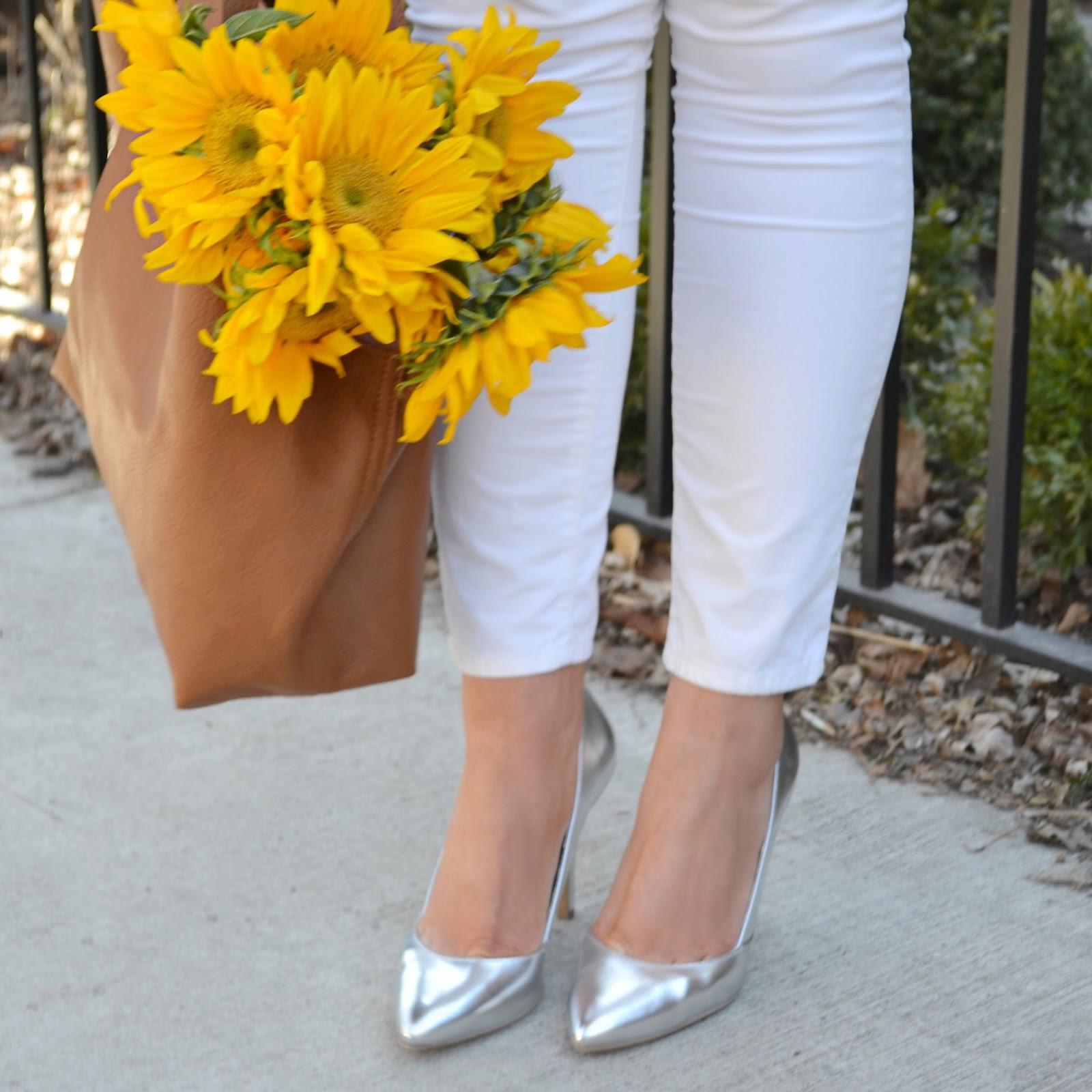 christian siriano silver heels