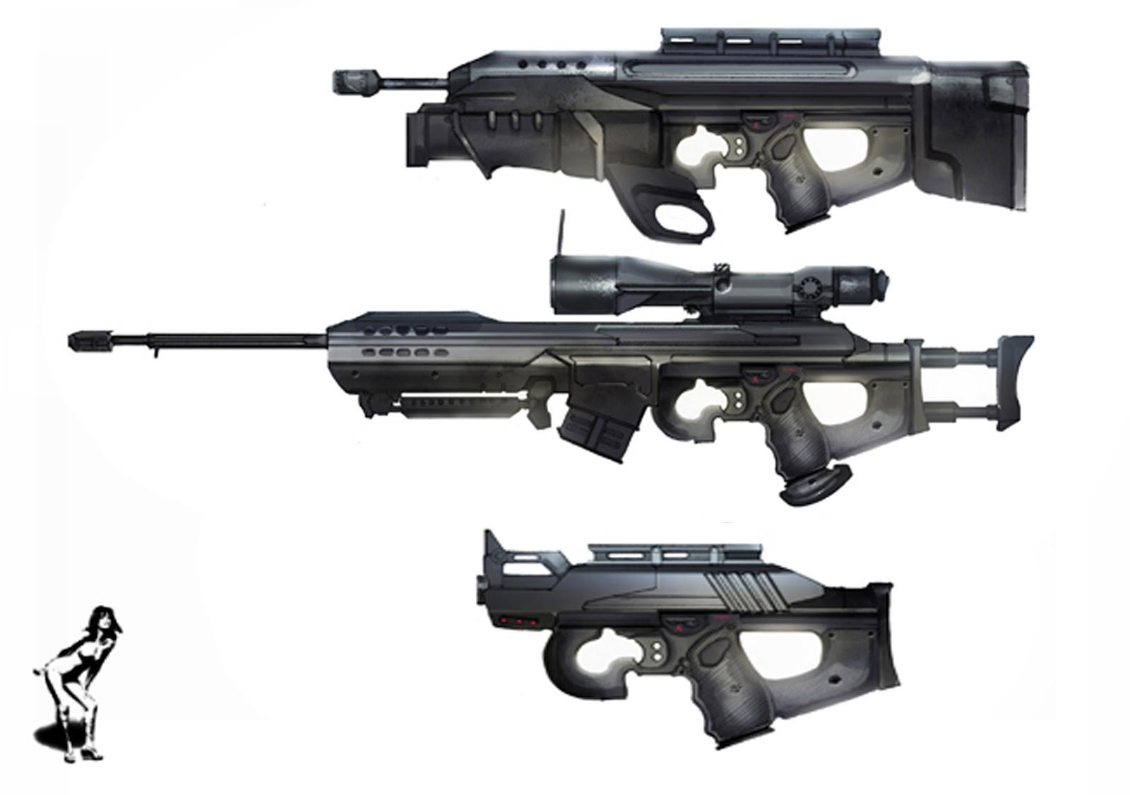 semi machine gun
