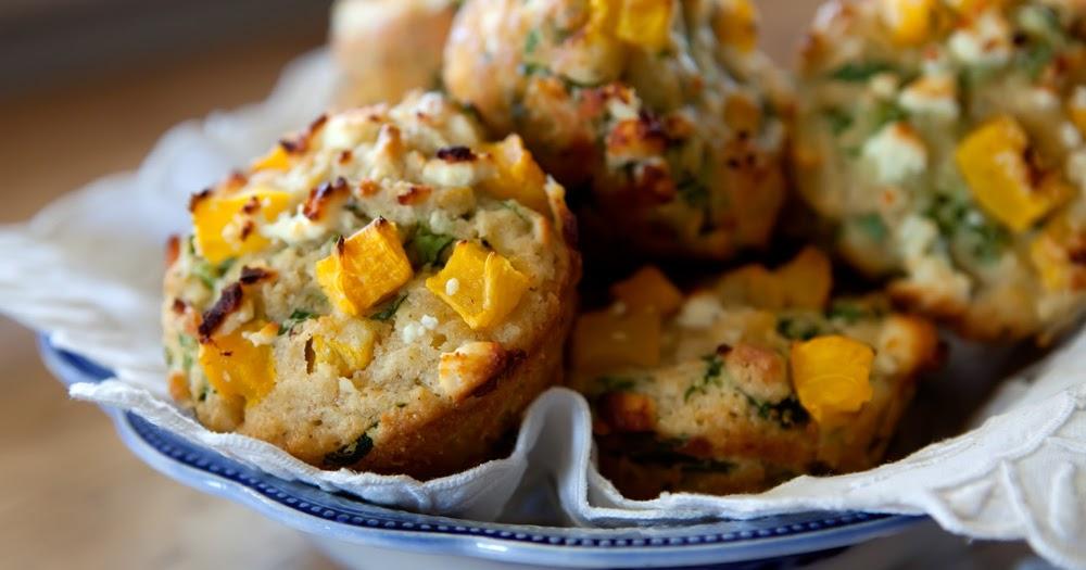 The Flour Sack: Pumpkin & Feta Muffins
