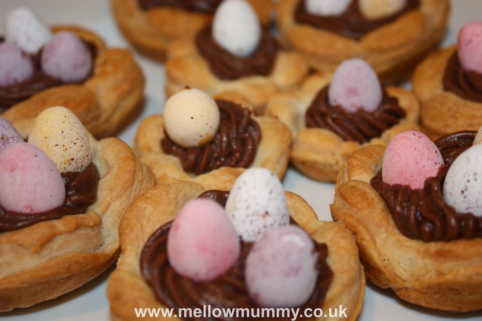 Puff Pastry Easter Nests Recipe