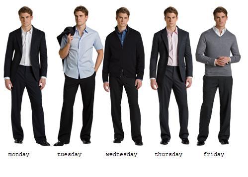 Work wear dress code for men-1