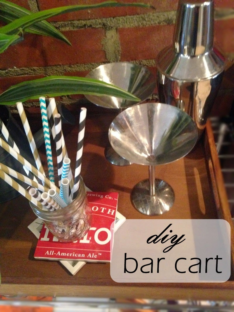 diy bar cart project