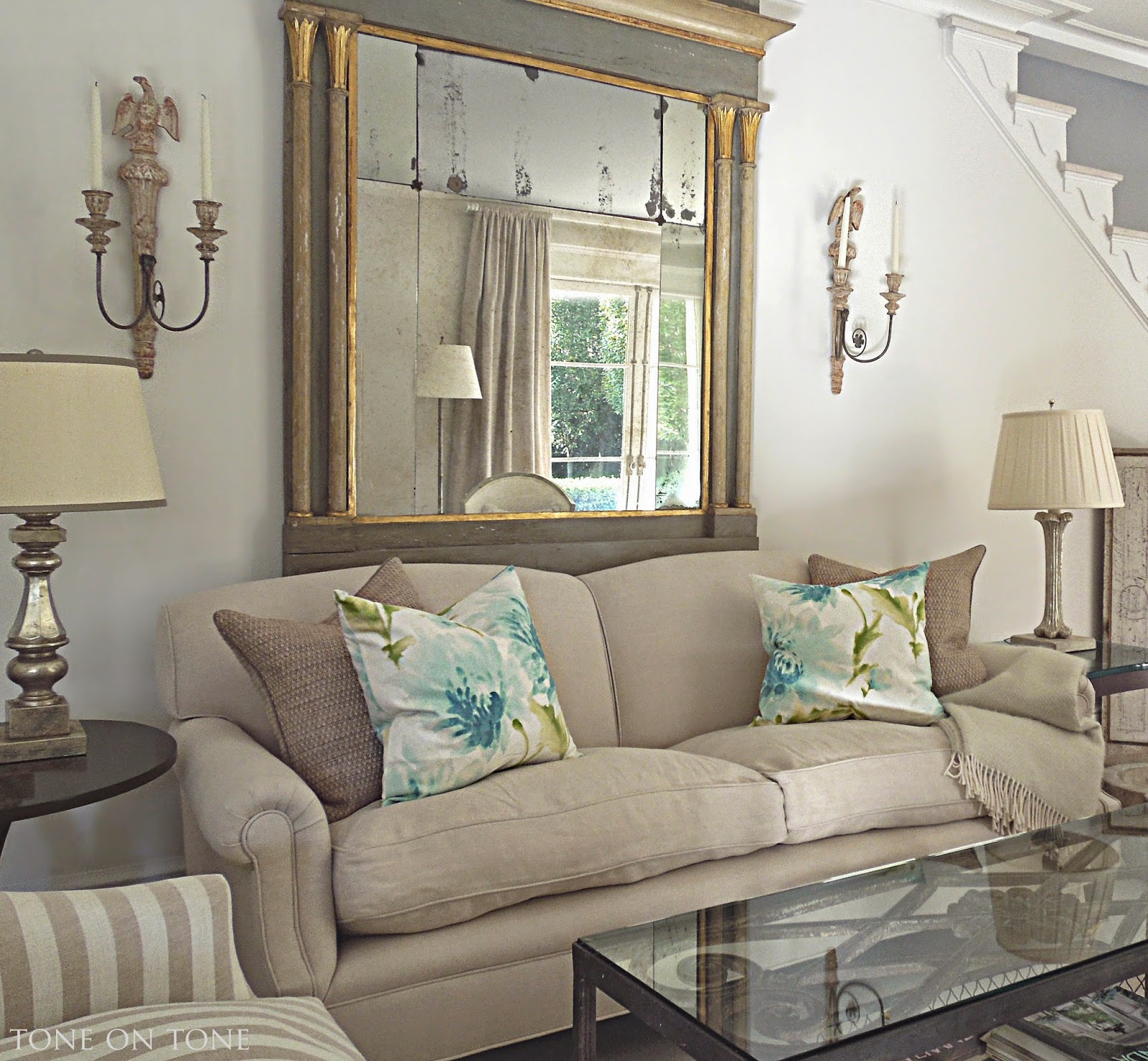 Tone on Tone: Silver Accents + HomeGoods