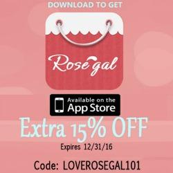 Download the Rosegal App