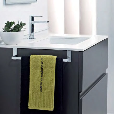 Accesorios de ba o apliques toalla tu cocina y ba o for Toalleros para bano modernos