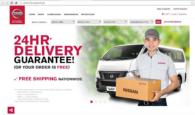 Nissan Parts, Accessories and Merchandise Now Available ONLINE