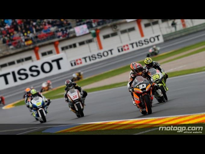 Hasil race Moto2 Seri Valencia 2012