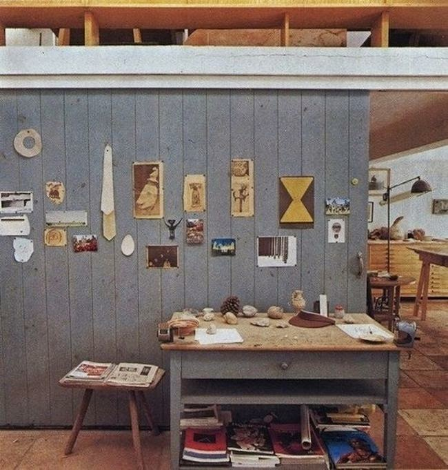 The Workspace of Joan Miro