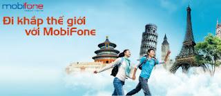 Ưu đãi 90% cước phí 3G Mobifone khi Chuyển vùng quốc tế
