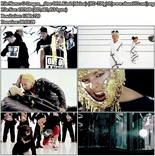 Download MV G-Dragon - One Of A Kind (Melon HD 720p)