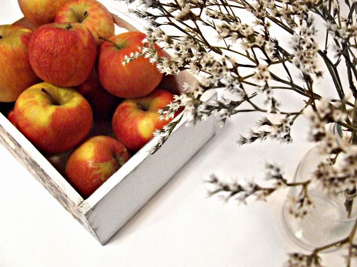 pojemnik do kuchni decoupage na pieczywo lub owoce - decoupage folk i świąteczny