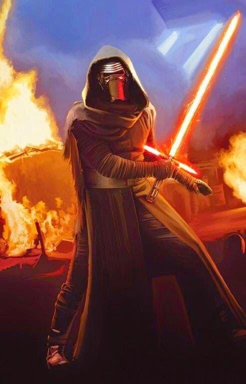 Cartel nº3 de la película Stars Wars 7 El despestar de la fuerza