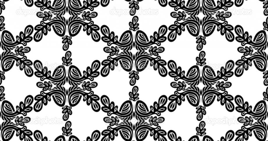 Black And White Flower Wallpaper Designs Image Collections
