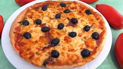 طريقة عمل البيتزا سهلة, تحضير البيتزا سهلة, بيتزا سهلة, البيتزا