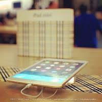iPad mini 2 de color oro