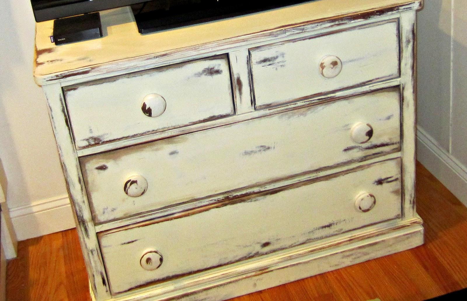 how to distress furniture decodir. Black Bedroom Furniture Sets. Home Design Ideas