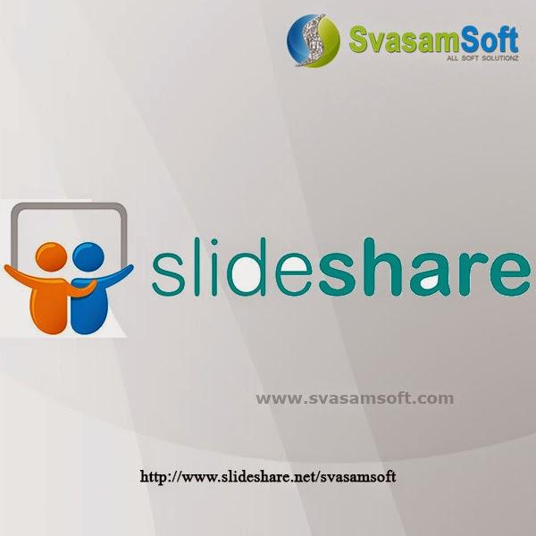 Svasamsoft Slideshare