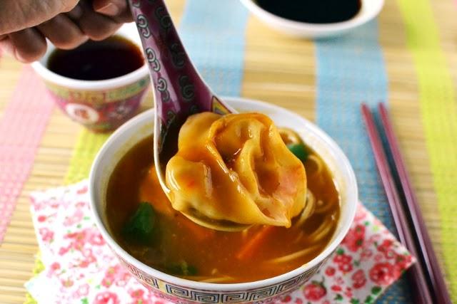 Vegetarian Wonton Soup