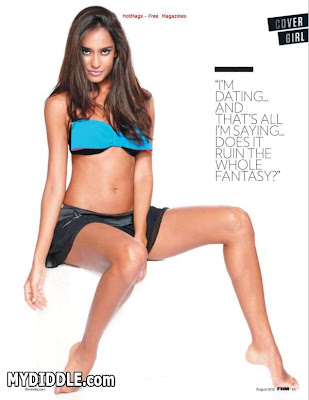 Lisa Haydon Rascals Actress HOT FHM Scans