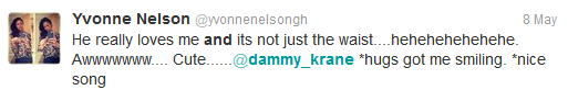 Dammy Krane now dating Yvonne Nelson