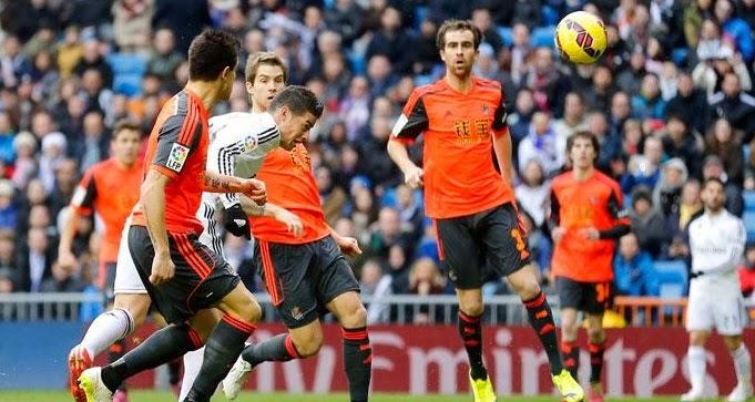 Real Madrid 4-1 Real Sociedad (La Liga)