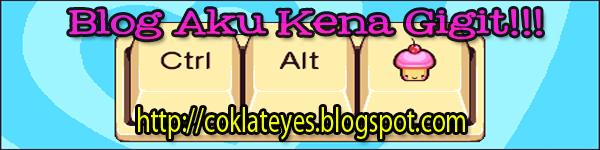 Contest Blog Aku Kena Gigit by Coklateyes