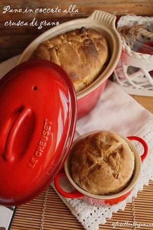 pane in coccote alla crusca di grano