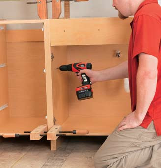 Kitchen And Bathroom Renovation: How to Install Base Cabinets 02