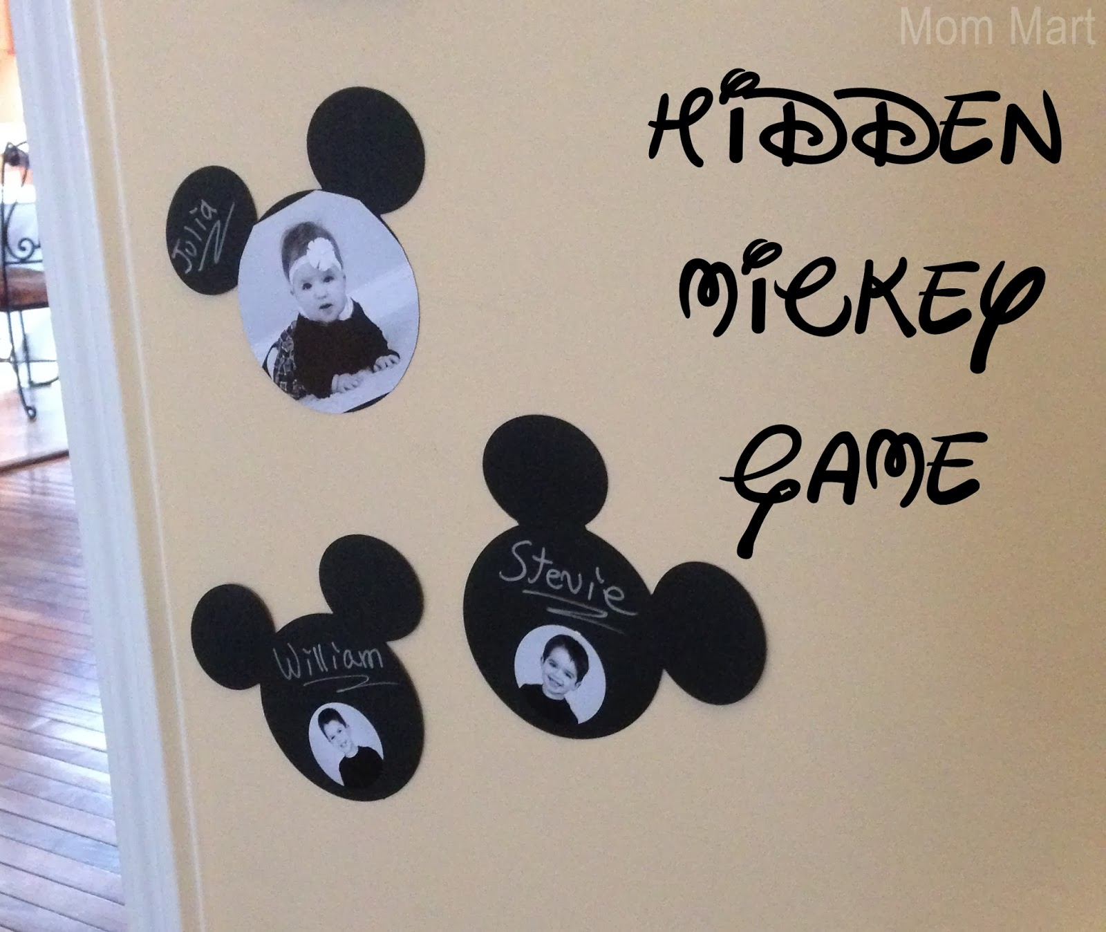 Minnie Mouse Themed Birthday Party Games - Hidden Mickey