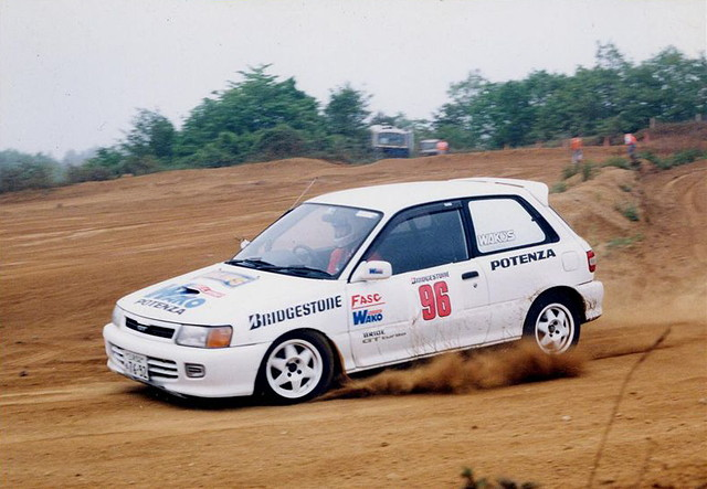 Toyota Starlet, P8, racing, wyścigi
