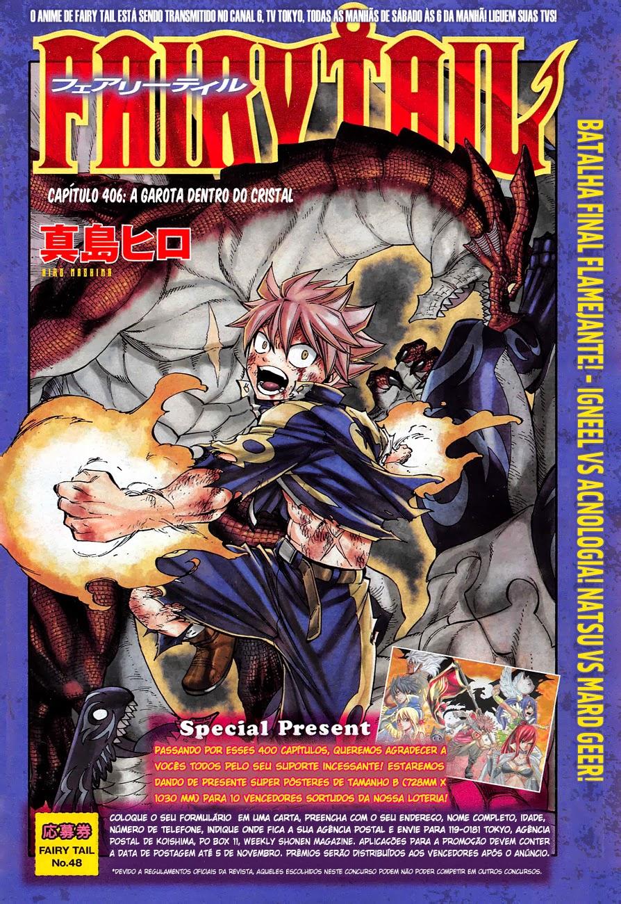 Fairy Tail 406 Mangá Português leitura online