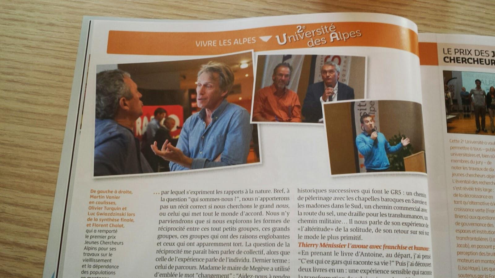 Extrait Alpes Magazine