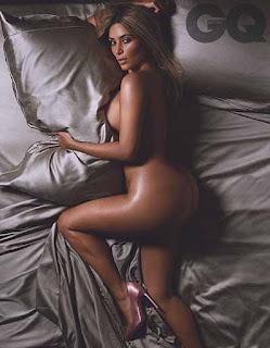 Foto bugil Kim Kardashian si bokong gede