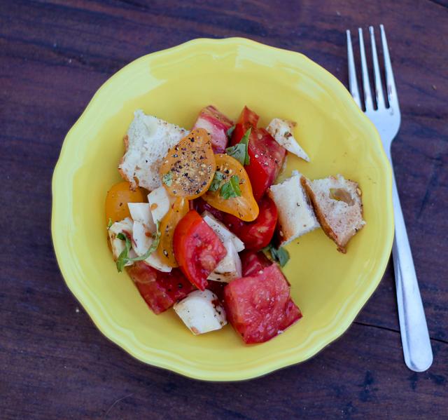 Kitchen Corners: Tomato Bread Salad