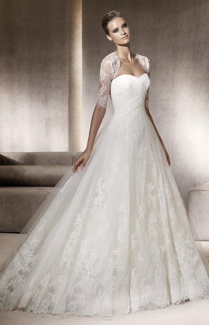... ,robes de soirée et décoration: Robe de mariee avec longue traine
