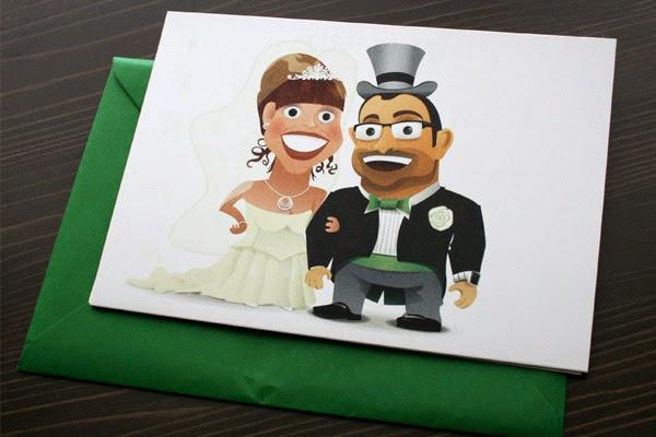 ilustracion de invitacion de bodas