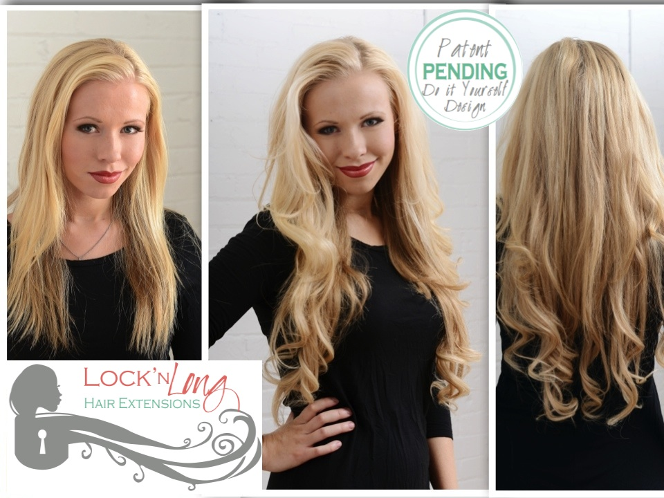 The Funky Monkey Giveaway Lockn Long Hair Extensions One Set Of