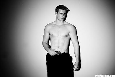 Alexander Ludwig shirtless by Tyler Shields
