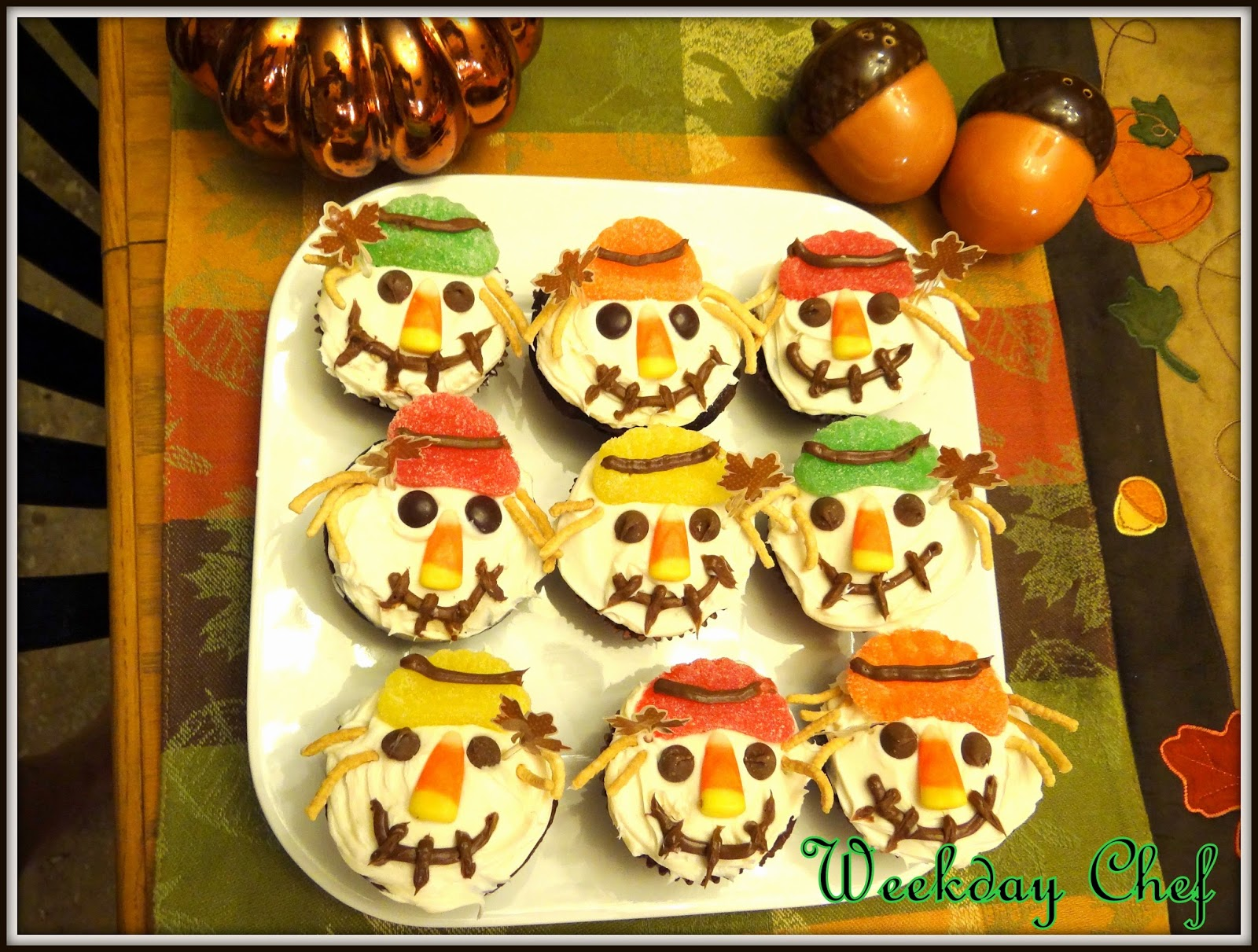 Everybody Loves Scarecrow Cupcakes This Would Be A Great Finger Food For Any Fall Party