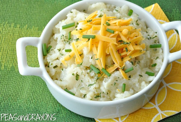 Twice-Baked Whipped Cauliflower Potatoes