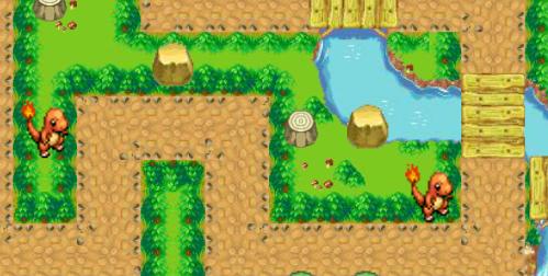 game pokemon bảo vệ khu vườn, trò chơi pokemon hay của gamevui.biz