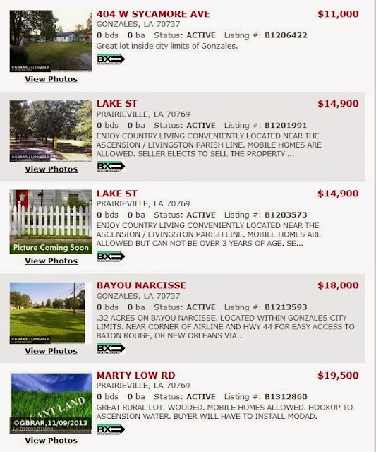 http://www.batonrougerealestatedeals.com/listings/areas/38193,47308/propertytype/LAND/maxprice/60000/sort/price+asc/