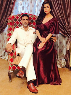 Akshay and Nimrat