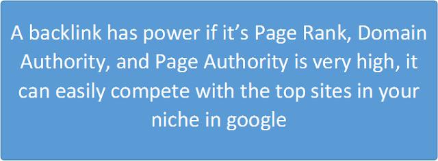 backlinks power authority