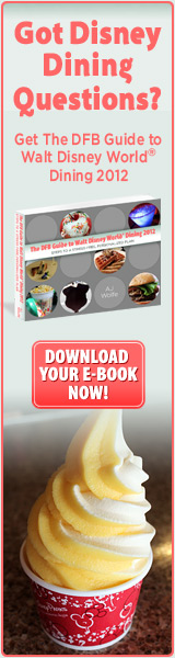 Download the Best Guide to Dining At Disney!