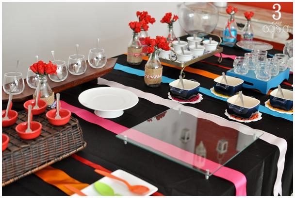 mesa para festa