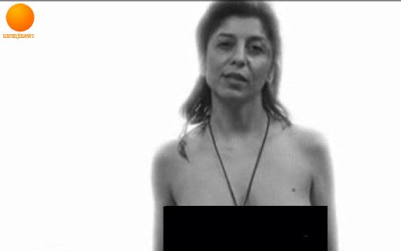 برهنه شدن یک خانم چاق در ایستگاه و تصویر گلشیفته رسماً برهنه شد