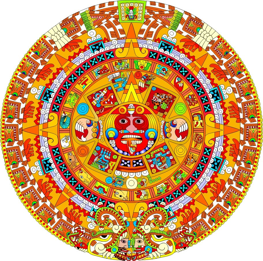 Mexican Clip Art Calendar