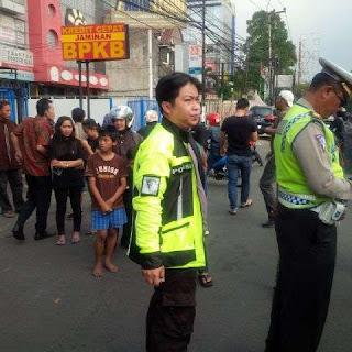 [Foto] Kronologis Rocky Pemoge Polisi Gadungan Ditangkap Melintasi Jalur TransJakarta